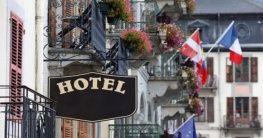 Hotel in Frankreich