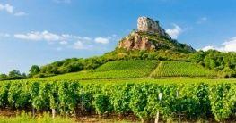 Landschaft in Frankreich