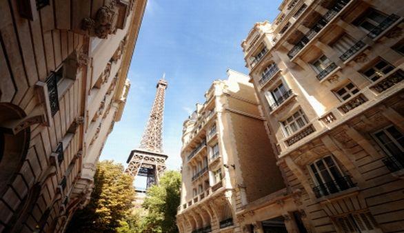 Paris mit Eifelturm
