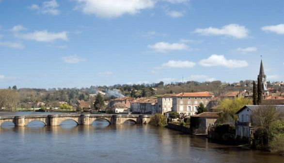 Confolens in der Poitou-Charentes